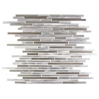Miseno MT-ALLOYLINEARSHTHIN Alloy - Thin Glass Visual - Wall Tile (Sold by Sheet)