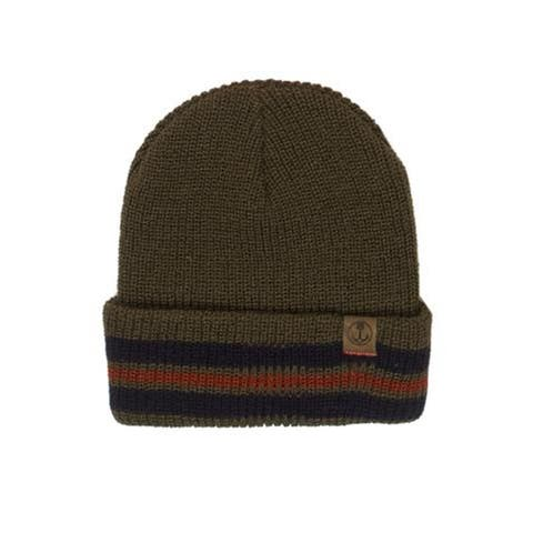 Iron and Resin Adult Unisex Knit Folded Palmer Beanie Hat One Size - One Size