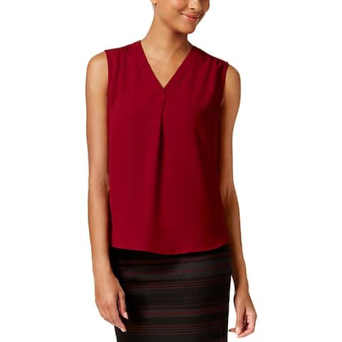 Nine West Womens Shell Ruched Shoulder Professional