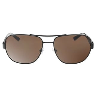 DKNY DY5079 100473 Dark Brown Havana Aviator Sunglasses - dark brown havana - 58-17-140