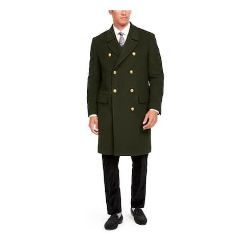 TALLIA Mens Green Coat Size M