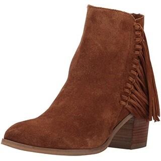 Kenneth Cole Reaction Womens ROTINI Leather Almond Toe Ankle Fashion Boots Fa...