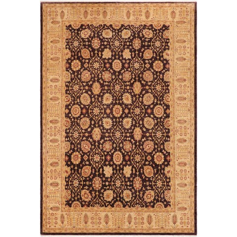 Shabby Chic Ziegler Raquel Hand knotted Rug - 9'11 x 13'11 - 9 ft. 11 in. X 13 ft. 11 in.
