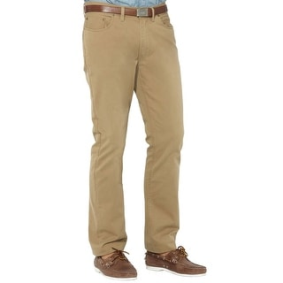 Polo Ralph Lauren Big and Tall Classic Fit Casual Pants Med Beige 38T x 36L - 38