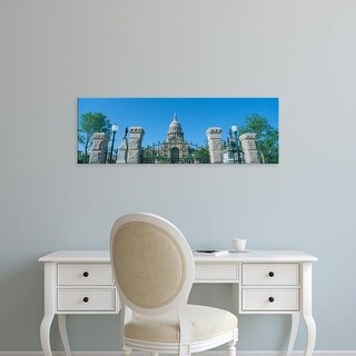 Easy Art Prints Panoramic Images's 'State Capitol, Austin, Texas' Premium Canvas Art