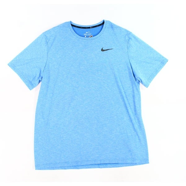 a8dbcf81 Shop Nike Blue Men's Size 2XL Dri Fit Training Performance T-Shirt - Free  Shipping On Orders Over $45 - Overstock - 28247160