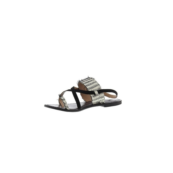 Freebird by Steven Womens Ocean Leather Open Toe Casual Ankle Strap Sandals