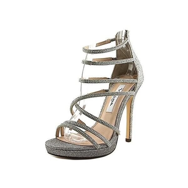 Nina Womens Finessa Heels Open Toe Strappy