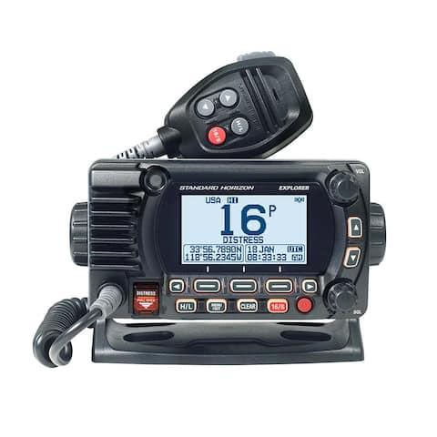Standard Horizon GX1800G Fixed Mount VHF with GPS - Black GX1800GB Fixed Mount VHF