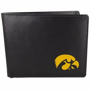 Iowa Hawkeyes Bi-fold Wallet Black - ID Window Bifold