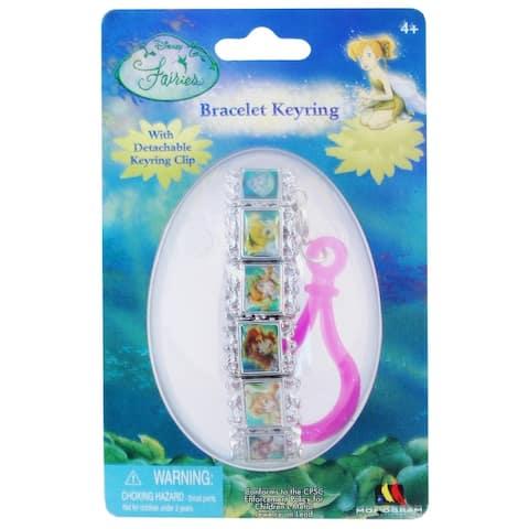 Disney Fairies Portrait Bracelet Key Ring - Multi