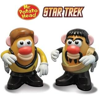 Star Trek Kirk & Kor Mr Potato Head Figure Set Of 2 - multi