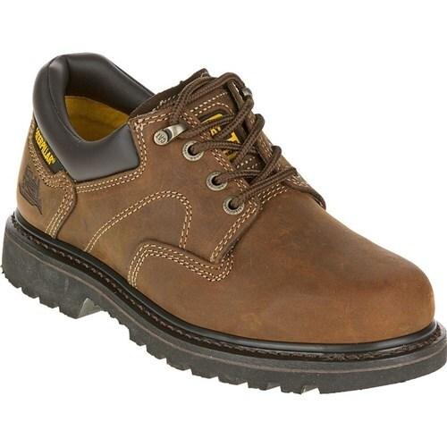 """""""CAT Footwear Ridgemont - Dark Brown 9.0(W) Work Shoe"""""""