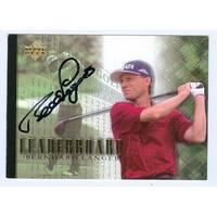 Bernhard Langer Autographed Golf Trading Card - 2001 Upper Deck