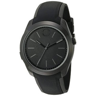 Movado Men's Bold 3660002 Black Dial Watch