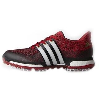 Adidas Men's Tour 360 Prime Boost Core Black/FTWR White/Power Red Golf Shoes F33344 (Option: 14)