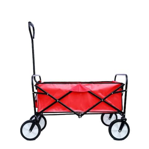 Folding Wagon Garden Shopping Beach Cart