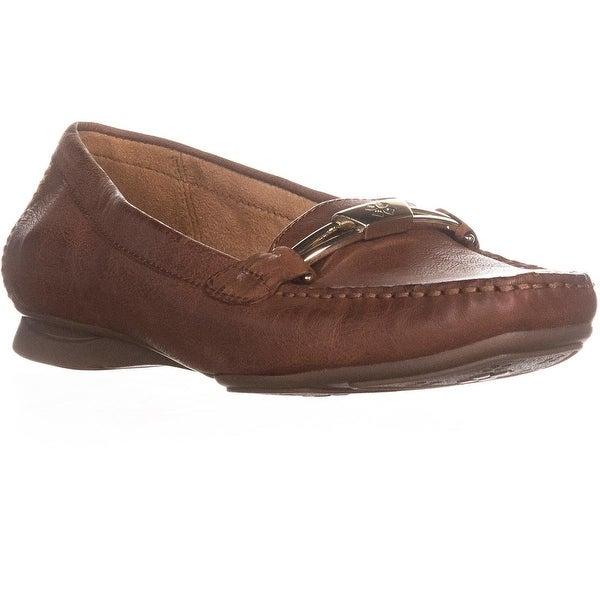 naturalizer Saturday Logo Loafers, Saddle Tan - 8.5 w us