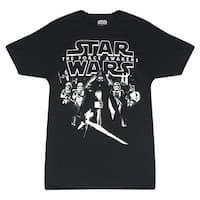 Star Wars Kylo Ren & Storm Troopers Men's Black T-shirt