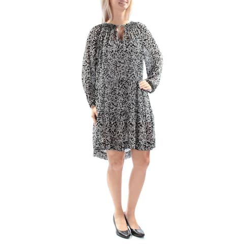 SANCTUARY Black Long Sleeve Knee Length Hi-Lo Dress Size S