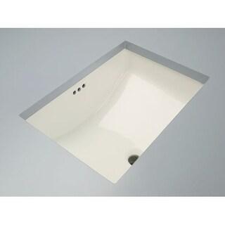 Mirabelle MIRU1812 18-11/16  Porcelain Undermount Bathroom Sink with Overflow  sc 1 st  Overstock.com & Buy Mirabelle Bathroom Sinks Online at Overstock.com | Our Best ...