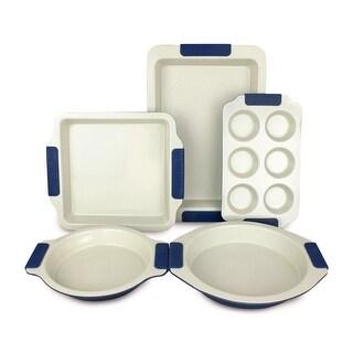 Vitesse High Quality Ceramic-Coating Bakeware 5-Piece Set