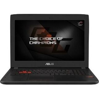"Grade B Asus ROG GL502VS 15.6"" Standard Refurb Laptop - Intel i7 6th Gen 2.6 GHz 16GB 1TB Win 10 Home - Wifi, Webcam, Bluetooth"