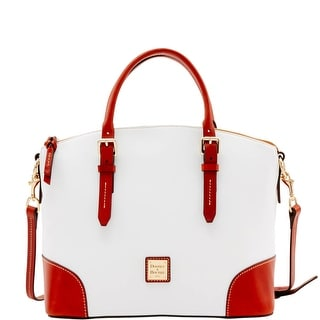 Dooney & Bourke Oberland Domed Satchel (Introduced by Dooney & Bourke at $298 in Feb 2017) - White
