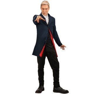 Elope Doctor Who 12th Doctor Adult Costume (L/XL) - Solid - l-xl