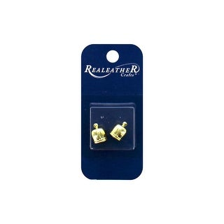 Silver Creek Tassel End Cap 7mm Gold