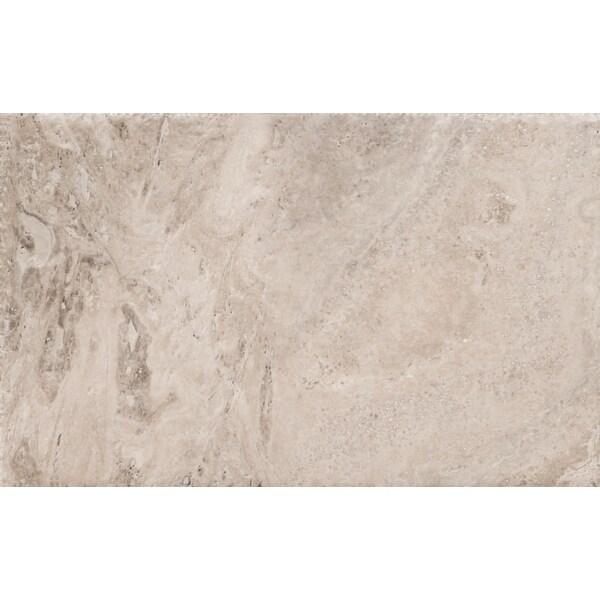 "Emser Tile T06TRAV1624UC Trav Chiseled - 16"" x 24"" Rectangle Floor and Wall Tile - Honed Travertine Visual"
