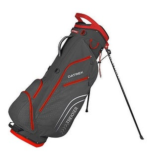 Link to New Datrek Trekker Ultra Light Stand Bag (Charcoal / Red) - Charcoal / Red Similar Items in Golf Bags & Carts