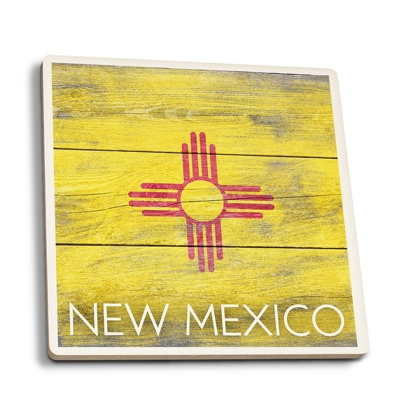 Shop Rustic New Mexico State Flag