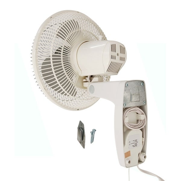 Air King 9018 Commercial Grade Oscillating Wall Mount Fan 18-Inch by Air King