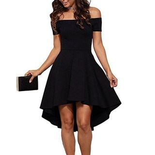 Women Casual Off Shoulder Formal Party Cocktail Dress