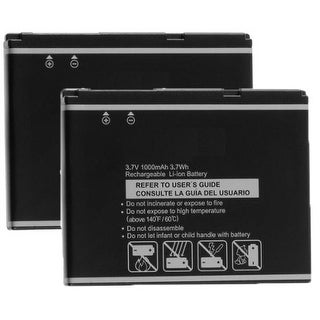 New Replacement Battery Pantech PBR-55D 5HTB0081B0A BLI-1048-.9 for Phone Models 2 Pack