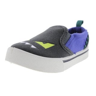 OshKosh B'Gosh Boys Loafers Canvas Colorblock - 7 medium (d) toddler