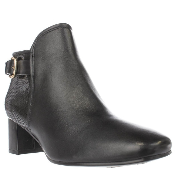 naturalizer Nailah Turlock Ankle Boots, Black - 9.5 w us