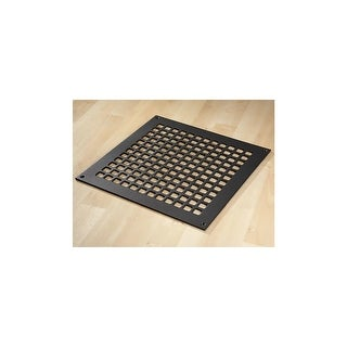 "Reggio Registers G1414-SNH Grid Series 12"" x 12"" Floor Grille without Mounting H - N/A"