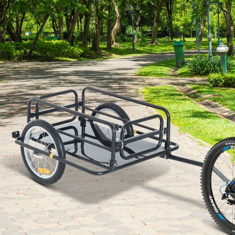 Aosom Wanderer Cargo Bike Trailer