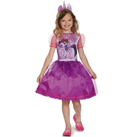 Disguise Twilight Sparkle Classic Dress Child Costume - Purple