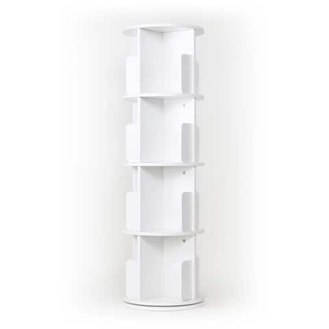 Creative 360 Angle Rotating Bookcase Simple Disassembly Bookshelves