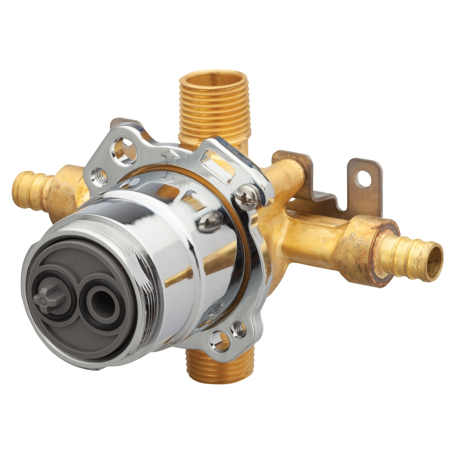 Gerber Gs 504 Treysta Tub And Shower Valve F1807 Crimp Pex Natural Overstock 25725580