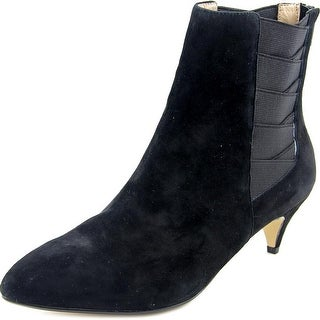 Nina Yanni Women Pointed Toe Suede Ankle Boot