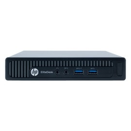 Refurbished HP EliteDesk 800G1 DESKTOP MINI Intel Core I5 4590T 2G 4G DDR3 1TB WIN 7 PRO 64 1 Year Warranty