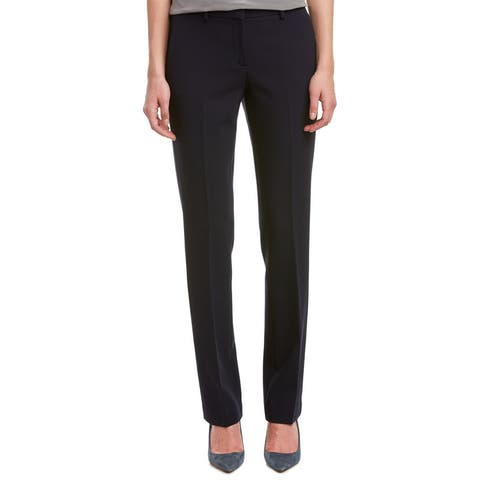 Theory Izelle B.New Faded Wool-Blend Pant