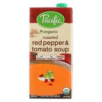Pacific Natural Foods Red Pepper and Tomato Soup - Roasted - Case of 12 - 32 Fl oz.