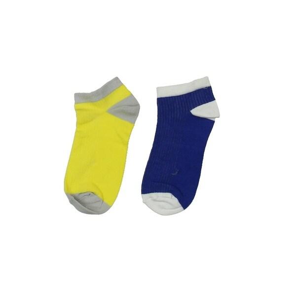 Zara Girls Ankle Socks 2PK Colorblock - M