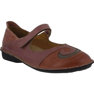 Spring Step Women's Cosmic Red/Wine Combo Leather