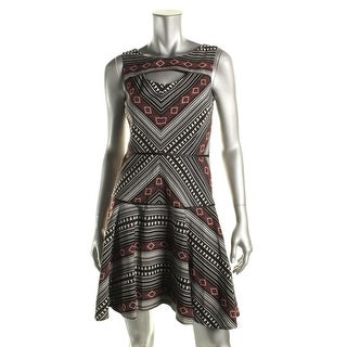 Jessica Simpson Womens Printed Cutout Casual Dress - 2